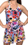Day of the Dead Sleeveless Mini Dress Design 3055