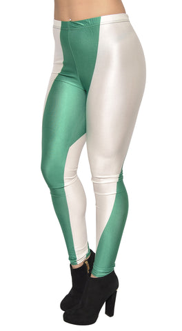 Nigeria Flag Leggings Design 494