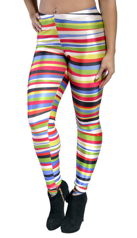 Rainbow Rings Leggings Design 242