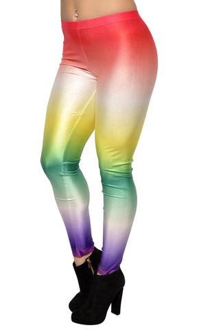 Galaxy Rainbow Leggings Design 223