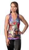 Stained Glass Prince and Princess Tank Top Design 13036