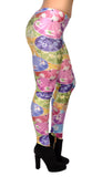 Colorful Umbrellas Leggings Design 225