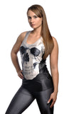 Black Skull Tank Top Design 13045