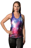 Galaxy Print Tank Top Design 13019