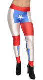 Chile Flag Leggings Design 483