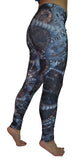 Fractal Print Leggings Design 538