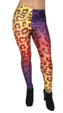 Rainbow Cheetah Leggings Design 333