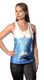 Jaws vs Ariel Tank Top Design 13003