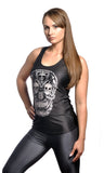 Black Skull Tank Top Design 13047