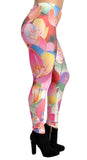 Colorful Floral Leggings Design 306