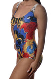 Tattoo Art One-Piece Swimsuit Design 5034