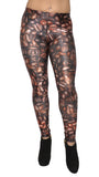 Coffee Beans Leggings Design 340