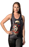 Fallen Angel Black Tank Top Design 13070