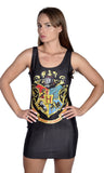 Harry Potter Sleeveless Mini Dress Design 3078