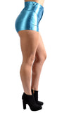Teal Disco Shorts Design 8007