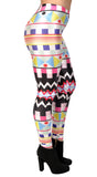 Moroccan Art Leggings Design 436