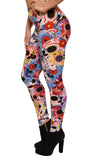 Day of the Dead Leggings Design 220