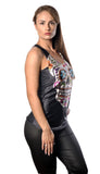 Black Sugar Skulls Tank Top Design 13020