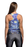 Starry Night Tank Top Design 13015