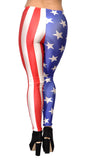 USA Flag Leggings Design 268
