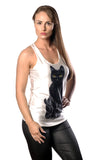 Black Cat Tank Top Design 13076