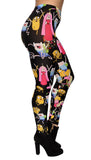 Adventure Time Montage Leggings Design 343