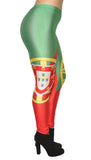 Portugal Flag Leggings Design 495
