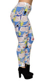Adventure Time Finn the Human Leggings Design 334