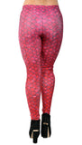 Red Dragon Scales Leggings Design 294
