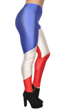 French Flag Leggings Design 489
