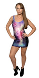 Sunset Lake Sleeveless Mini-Dress Design 3082