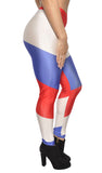 Netherlands Flag Leggings Design 493