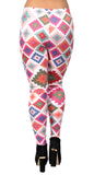 Colorful Patchwork Leggings Design 600