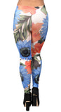Floral Water Colorful Leggings Design 68