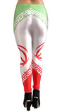 Iran Flag Leggings Design 269