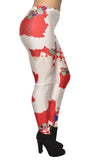 Croatian Flag Leggings Design 487