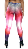 Galaxy Pink Leggings Design 257