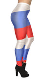 Russian Flag Leggings Design 496
