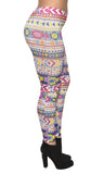 Colorful Tribal Leggings Design 91