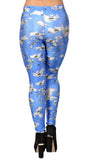 Blue Batman Leggings Design 271