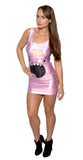 Lumpy Space Princess Sleeveless Mini Dress Design 3080
