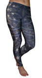 Fractal Print Leggings Design 534
