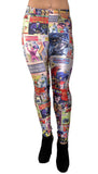 DC Comics Leggings Design 262