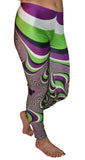 Psychedelic Melt Leggings Design 614