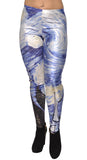 Van Gogh The Starry Night Leggings Design 561