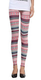 Pink Aztec Leggings Design 132