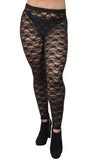 Black Lace Leggings Design 58