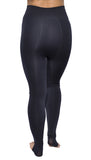 Blue Cashmere Warm Winter Stirrup Leggings Design 400