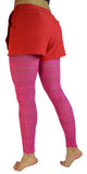 Pink Sheer Knit Leggings Design 53