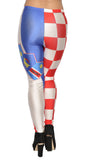 Croatian Flag Leggings Design 486